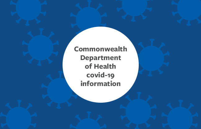 Department of Health covid-19 information