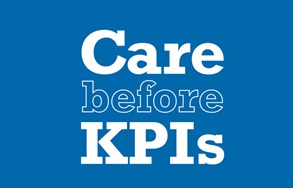 Care before KPIs logo