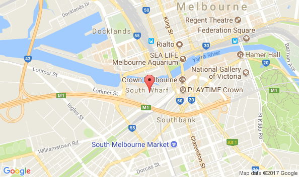 1 Convention Centre Place, South Wharf, Victoria, 3006, Australia